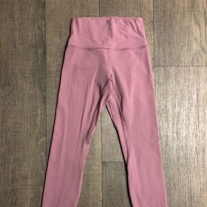 Lululemon Align Pant In Figue size 4 like new